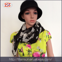 china wholesale high quality factory price silk summer scarf