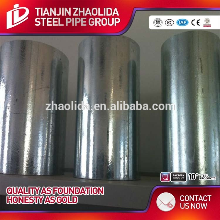 factory supply oil pipe galvanized steel tube & steel pipe bs 1387 zinc coated scaffolding steel pipe