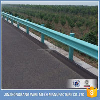 highway galvanized bridge guardrail