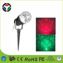 rotating projection light kaleidoscope outdoor christmas light show ball Led night Light