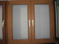 China brand Wood color PVC window, a variety of colors to choose from