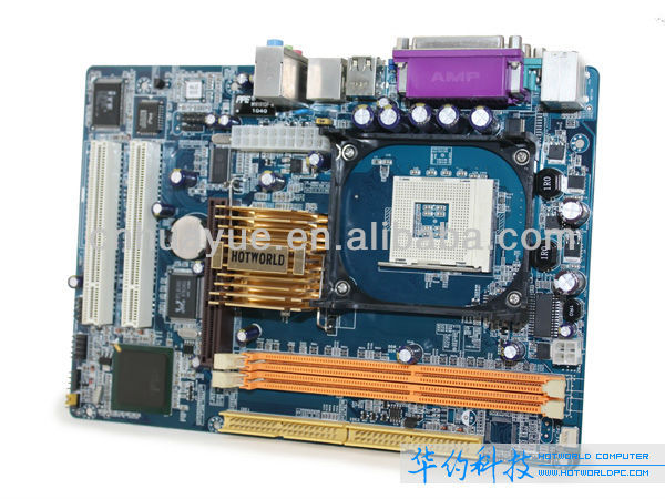 OEM PIN 478 Mainboard for Computer 845 DDR