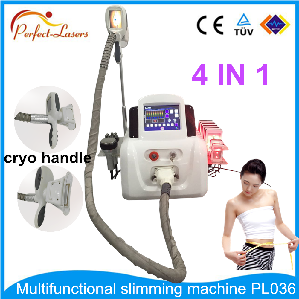Facial massage roller fat freezing skin analyser cavitation machine