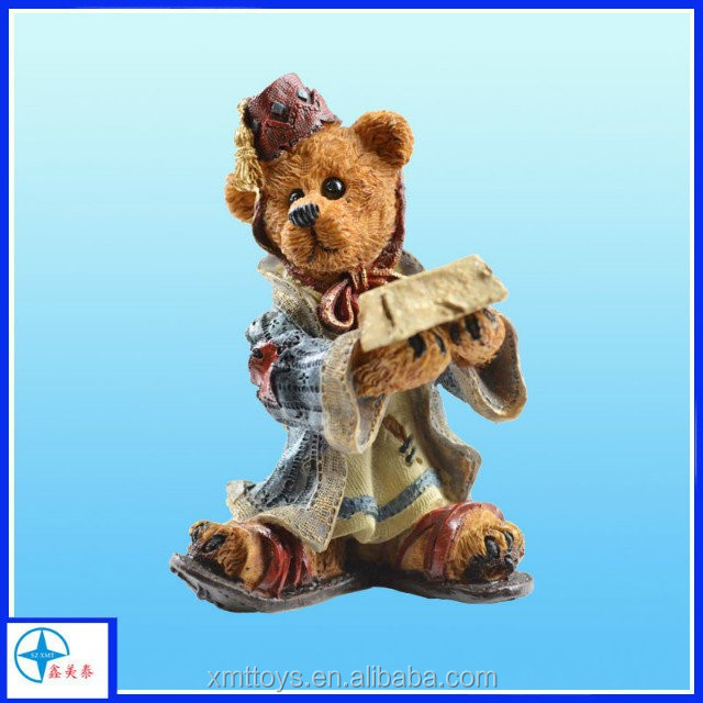 customize lifesize bear statue,resin animal statue,lovely toy bear statue