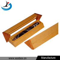 new design handmade wood pen display case