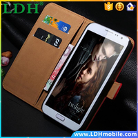 Genuine Leather Wallet Stand Case For Samsung Galaxy S3 III i9300 Phone Bag Card Holder, 2 Styles Flip Cover