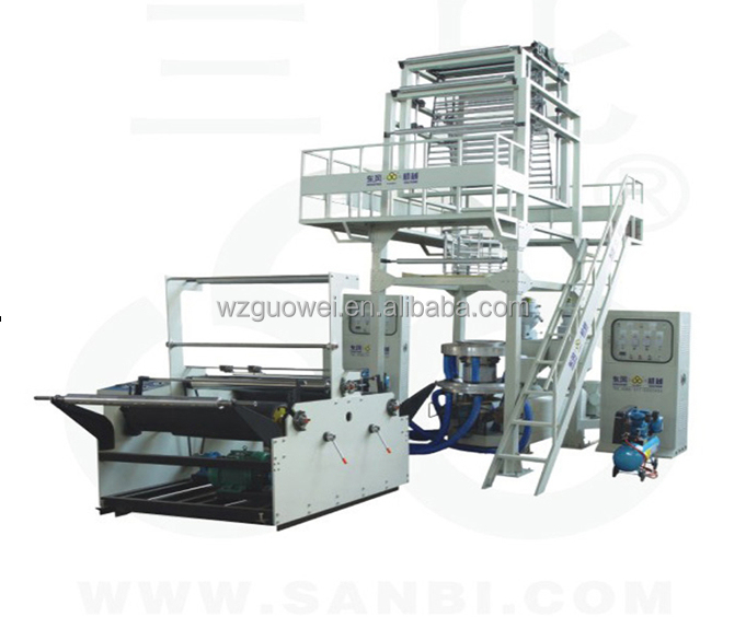 2SJ-G Series Double-layer Co-extrusion Rotary Die PE Film Blowing Machine