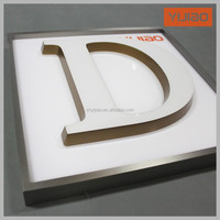 Face lit epoxy resin LED channel letter sign mini led channel letters