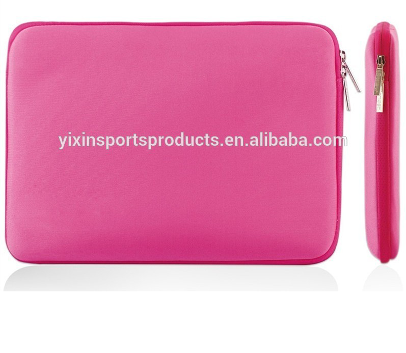 Neoprene Pink Deluxe Laptop Sleeve /Bag /Cover /Case For all 13-inch laptop/notebook,/UltraBooks