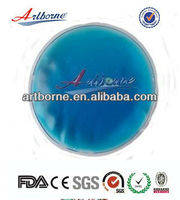 round shape magic microwave gel pad hot cold use(CE/FDA/SGS/MSDS/ROHS approval)
