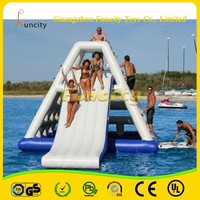 Giant Outdoor Water Toy Inflatable Aqua Glide, Inflatable Airtight Water Slide