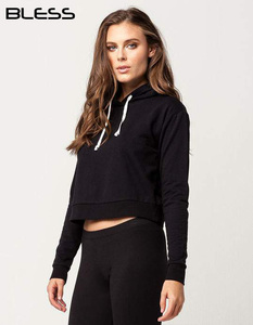 New Workout Fitness Wear Terry Hoodies Custom Women Gym Hoodie