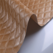 2017 wholesale low price embossed pattern pvc leather upholstery goods leather material for handbag and forniture and car seat