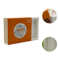 Handmade orange jewelry cardboard box packaging custom cardboard box