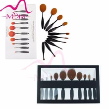 Professional 10 pcs make up brush set tools facial beauty Cosmetic private label makeup brush