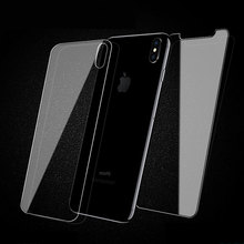 New Series Wholesale Price Cell Phone Accessories 2.5D Front and Back Tempered Glass Screen Protector for iPhone X/