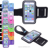 Fashion Workout Waterproof Cover Mobile Phone Gym Sport Fitness Armband 5.5 inch for iPhone 6 Plus
