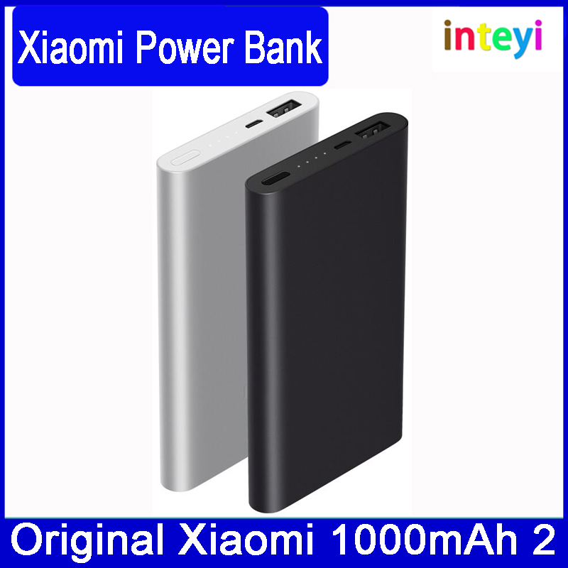 New Original Xiaomi Mi Power Bank 10000mAh 2 Quick Charge 2nd Generation Supports 18W Fast Charging For mi mix Mobile Phones