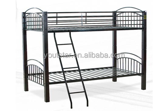 Dubai dormitory frame used bunk beds for sale cheap metal bunk bed