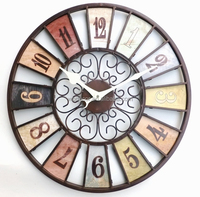 "20"" Vintage French Country Style Wall Clock"