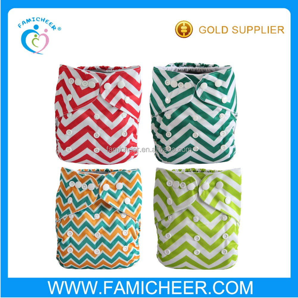 Famicheer Cheap AIO Night Cloth Diapers Bamboo Terry