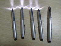 Fist Product---Fancy 3 In 1 Promotional Multi-function Metal Ball Pen With LED Light And Stylus Touch Pen