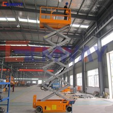 Hydraulic electric self propelled scissor lift platform for painting