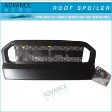 Black Car grill with Yellow LED light for Ford T7 2015 2016 ABS Plastic
