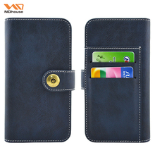 NDhouse 360 degree full protect colorful leather wallet case for iphone 8