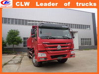 China brand howo front tipping tipper truck used bucket trucks