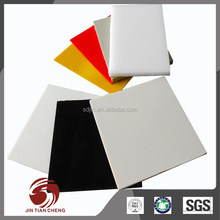 Toughness performance coloured pvc solid pvc board high density polyethylene