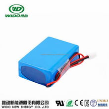 WIDO li polymer battery 8000mah 8ah lithium batteries for solar systems 12v