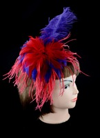 Hot Sale Ostrich Flapper Feather Headband