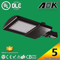 led street light solar energy packing lot light with UL CUL DLC