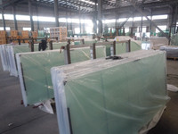 Soundproof glass, laminated soundproof glass, building glass