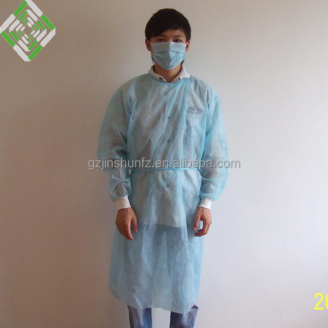 Jinshun nonwoven disposable patient sterile sms surgical gown