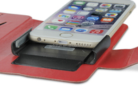 Universal mobile phone leather case for 4.5 to 5 inch