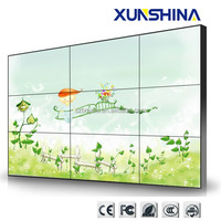 55 inch 3x3 lcd video wall price (3.5mm 500cd/m2)