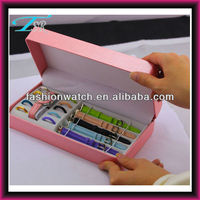 2013 interchangeable strap watch gift set items low cost new products for europe
