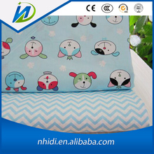 China manufacturer tc baby dress animal pictures printed poplin fabric