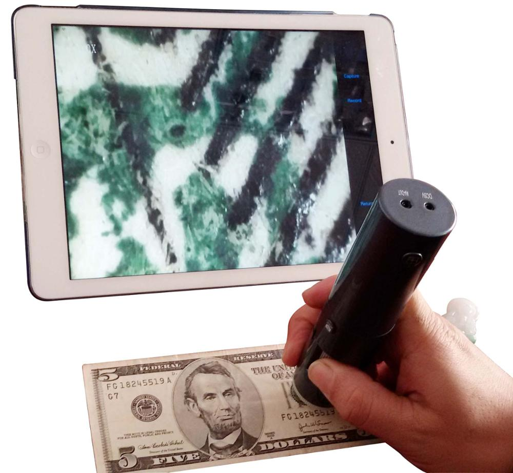 Ceramic Bubble Detection Magnifier Wireless Microscope Antique Magnifier