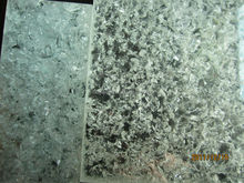 Wardrobe Translucent Eco Resin Panel Recycled Crushed Glass