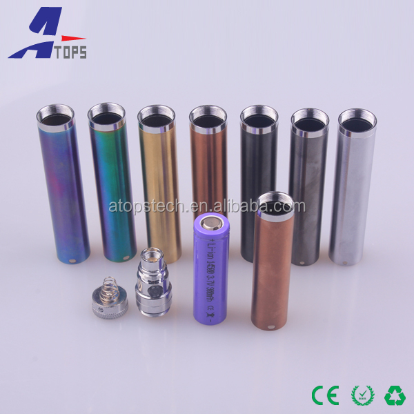 Korea popular electronic cigarette, Replaceable Metal Part new products electronic cigarette evod Tf1 Battery