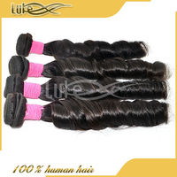 8A highest quality virgin remy hair,cuticles aligned and intact Unprocessed Peruvian Virgin Spring curl