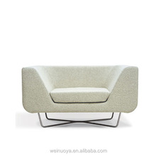 Shenzhen furniture factory modern single sofa for living room furniture