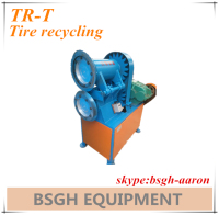 TR-T scrap tyre strips cutting machine used tire strips cutter