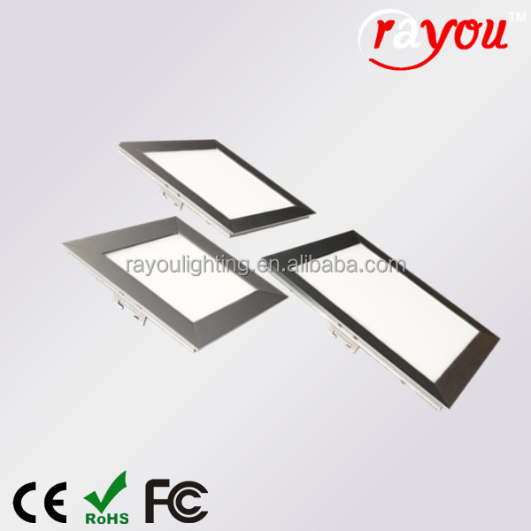 Qualified led ceiling light fixture light fixture square <strong>flat</strong> panel led light 25w bevel design