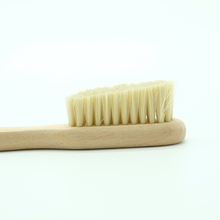 High Quality Beech Wood &amp; Pig Bristles Rock <strong>Brush</strong> for Climbing