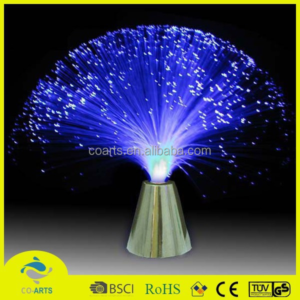 Most popular bright decoration family optical fiber lamp