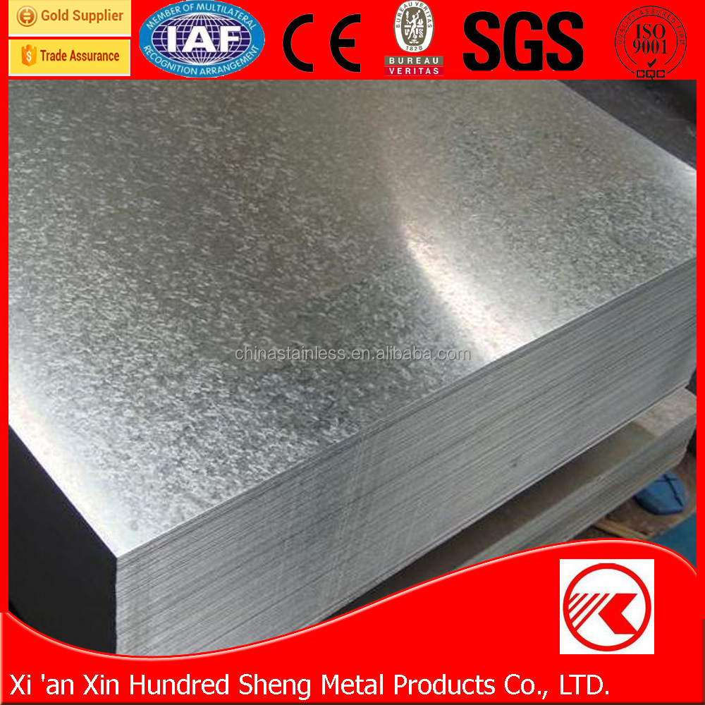 Factory price high quality sizes of galvanized iron sheet price